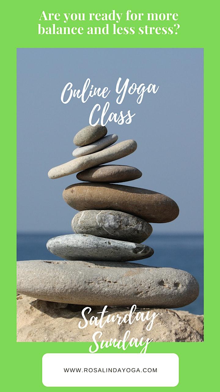 Online Beginners Yoga (Gentle Yoga) image