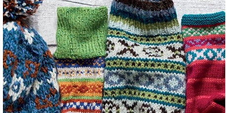 Copy of Learn to knit Fair Isle and change colours confidently tickets
