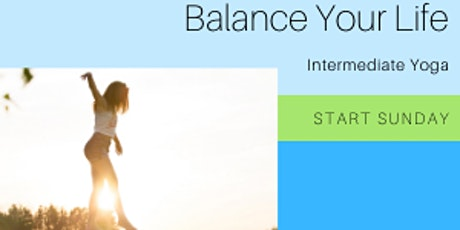 Online Intermediate Yoga tickets