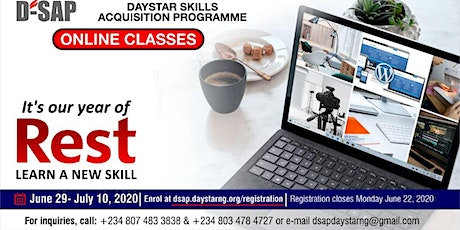 Daystar Skill Acquisition Program DSAP tickets