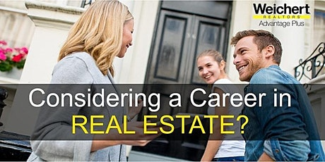 Career In Real Estate Seminar! tickets