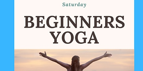 Online Beginners Yoga tickets