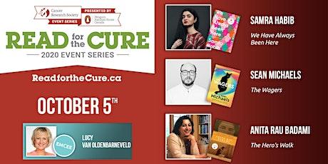Read for the Cure 05/10  [Samra Habib - Sean Michaels - Anita Rau Badami] tickets