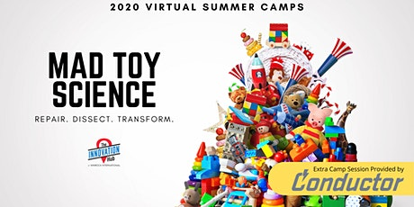 Virtual Summer Camp: Toy Dissection tickets