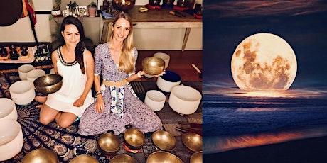 GLOBAL Full Moon Sound Healing (online) tickets