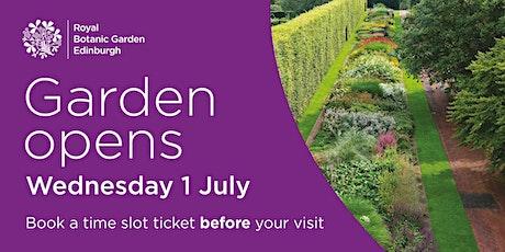 Royal Botanic Garden Edinburgh tickets