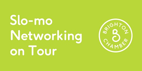 Slo-mo Networking on Tour tickets