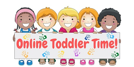 Online Toddler Time via Zoom tickets