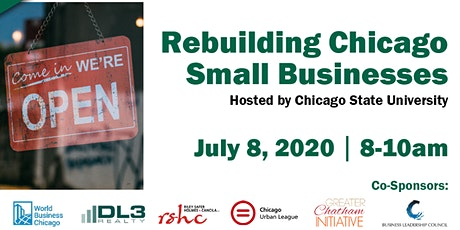 Rebuilding Chicago Small Businesses tickets