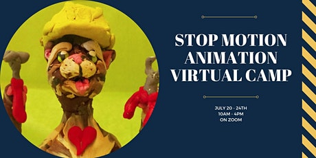 Stop Motion Animation Virtual Camp tickets