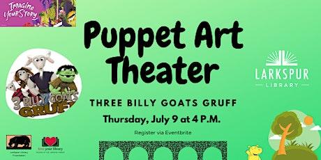 Puppet Art Theater: Three Billy Goats Gruff tickets