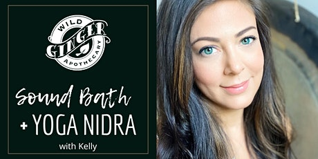 Sound Bath Meditation with Yoga Nidra tickets