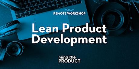Lean Product Development Remote Workshop tickets