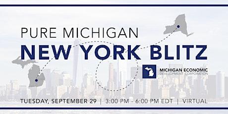 Pure Michigan | New York Blitz tickets