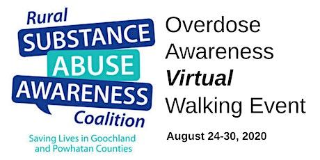 RSAAC Overdose Awareness Virtual Walk tickets