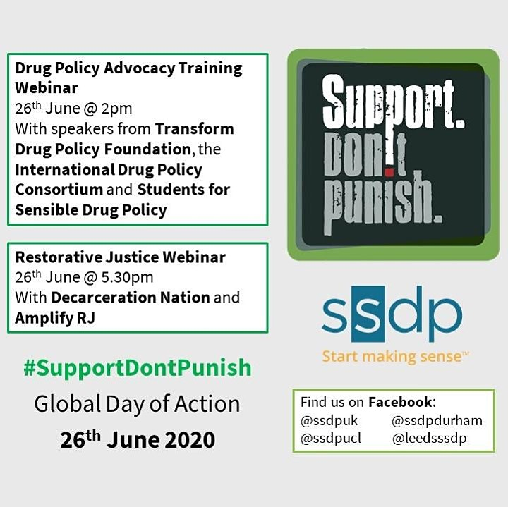 Global Day of Action: Drug Policy Advocacy Training image