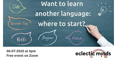 Learn a language: where do i start? tickets
