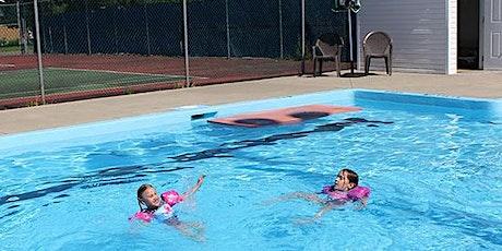 Baignade public/Public swim - Piscine d'Alfred/Alfred Pool billets