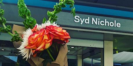 Syd Nichole Tropical Flowers  Arrangement  Workshop tickets