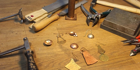 Earring Making Class for Beginners - Learn how to make metal earrings! tickets