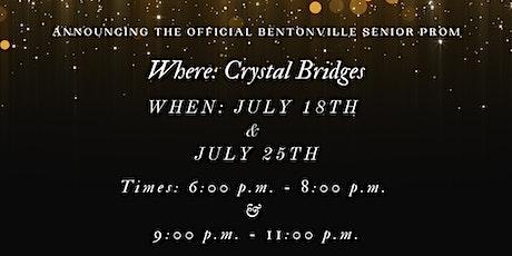 Bentonville Senior Prom tickets