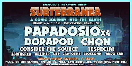 Subterranea - 2 Nights of Music + Art feat. Papadosio tickets