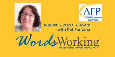 Words Working with Pat Fontana tickets