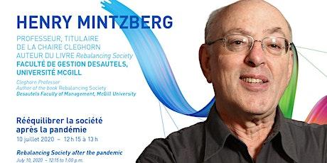 Conversation with Henry Mintzberg billets