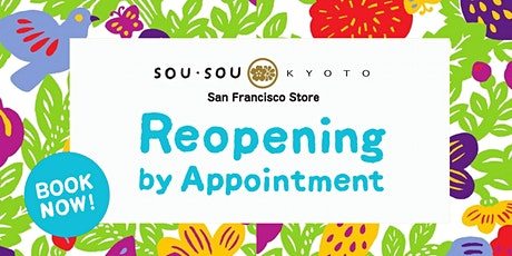 Private Shopping at SOU•SOU SF tickets