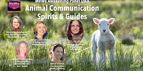 Animal Communication, Spirits & Guides - A MeWe Awakening Panel tickets