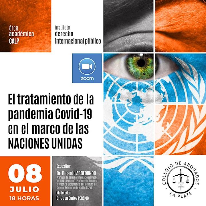 """Imagen de """"El tratamiento de la pandemia Covid-19 en el marco de las Naciones Unidas"""""""