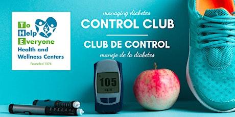 CLUB DE CONTROL: HABILIDADES DE AUTO-CONTROL DE DIABETES boletos