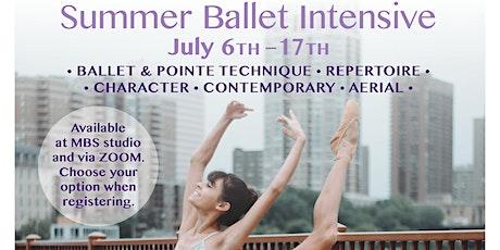 Summer Intensive Ballet Camp tickets
