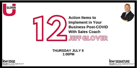 12 Action Items to Implement in Your Business Post-COVID tickets