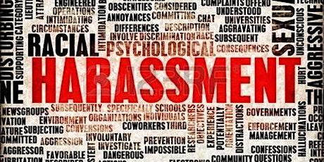 Harassment Avoidance Training  en Español [Spanish] – 10am-12pm, August 6 tickets
