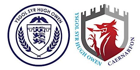 Ysgol Syr Hugh Owen: Cofrestru blwyddyn 8 / Year 8 registration tickets