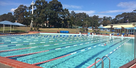 Roselands Outdoor Pool Lap Swimming Sessions - Monday 6 July  2020 tickets