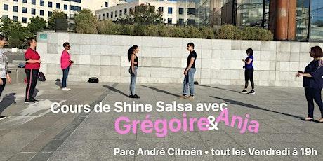 Cours de Salsa Shines Les Vendredis 19h-20h billets
