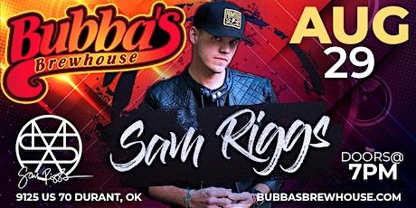 Sam Riggs tickets