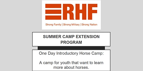 One Day Horse Camp tickets