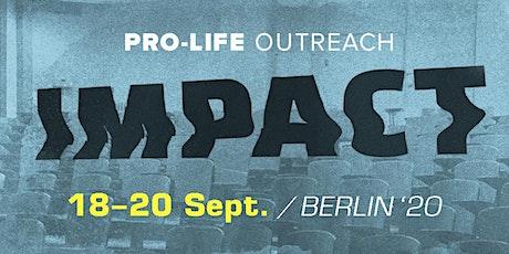 Impact Outreach 2020 Berlin tickets