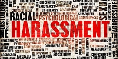 Harassment Avoidance Training Webinar - 1-3pm, August 6 tickets