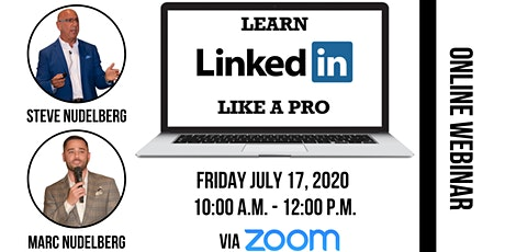 LinkedIn Like A Pro - Webinar tickets