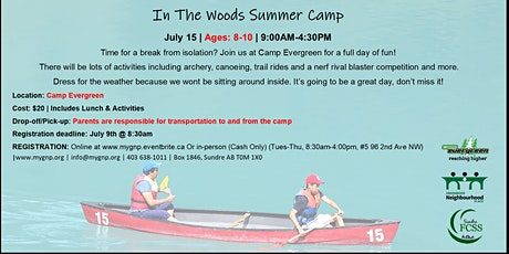 In The Woods Summer Camp tickets