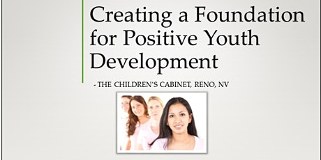 Creating a Foundation for Positive Youth Development tickets