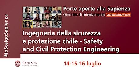 Ingegneria della Sicurezza e Protezione Civile - LM biglietti