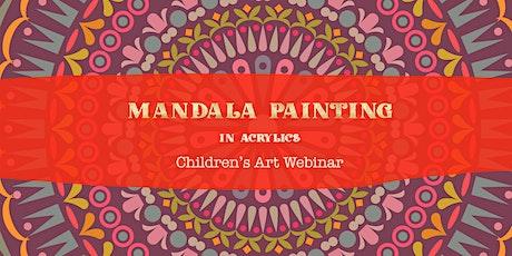 MINI Masters: Mandala Canvas Painting : Art Webinar tickets