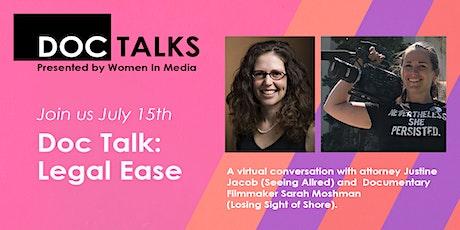 Doc Talk: Legal Ease Virtual Event tickets
