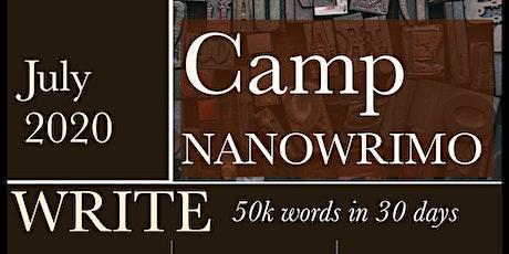 July2020 Camp NANOWRIMO tickets