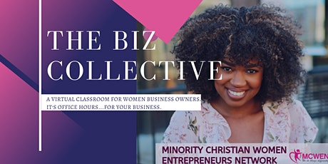 The Biz Collective: Office Hours for Women Entrepreneurs billets